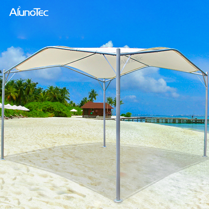 Patio Canopy Design Steel Frame Waterproof Sunshade Shelter Balcony Awning