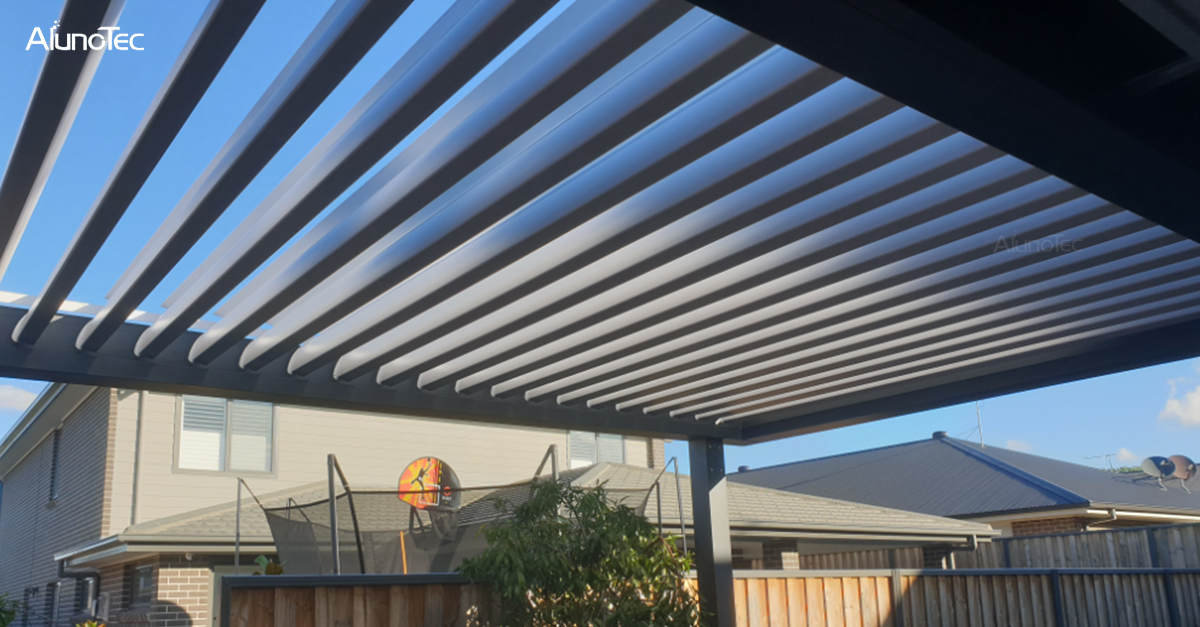 Outdoor fashion shading product leading - Aluno's Pergola