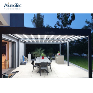Modern Design Outdoor Sunshade Aluminum Pergola Kits for Balcony Cover