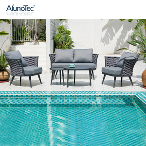 Modern Outdoor Patio Furniture Garden Sofa Sets